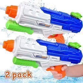 MOMOTOYS Super Water 1250CC High Capacity Squirt Guns, 2pk