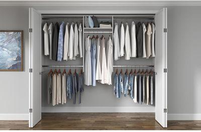 Home Depot - Up to 25% Off Select Closet Evolution Closet Systems