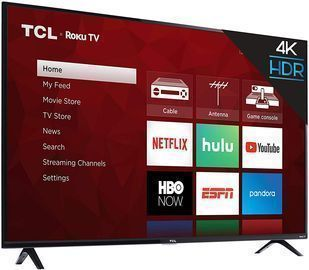 TCL 55 4K HDR Roku Smart TV (2019 Model, 55S425)