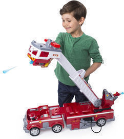 Paw Patrol Ultimate Rescue Fire Truck w/ Extendable Ladder