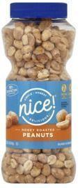 Nice! Honey Roasted Peanuts 16 oz