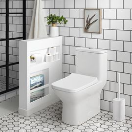 Swiss Madison Carre Square Toilet