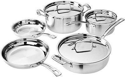 Cuisinart Multiclad Pro Cookware Set (8-Piece)