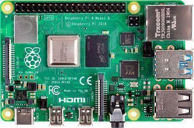 Raspberry Pi 4 2GB w/ CanaKit Power Supply