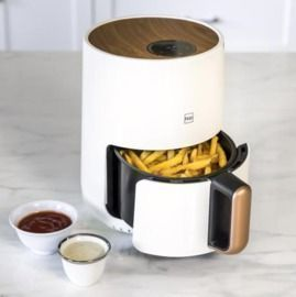 1.6qt 900W Digital Compact Kitchen Air Fryer + Recipes