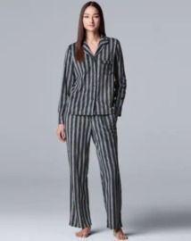 Simply Vera Vera Wang Women's Fleece Pajamas
