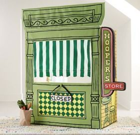 Limited Edition Hooper's Store Sesame Street Playhouse