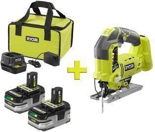 RYOBI 18-Volt ONE+ LITHIUM+ HP 3.0 Ah Battery Kit w/ Jigsaw