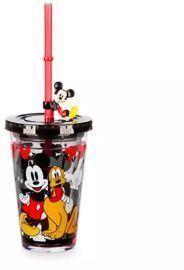 Mickey Mouse Tumbler w/ Straw