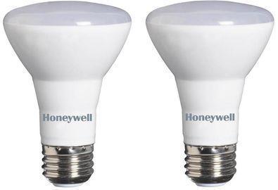Honeywell 2pk 45W Equiv. Warm White R20 Dimmable LED Bulb