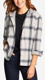 Stine's Favorite Flannel Hoodie Shirt Jacket