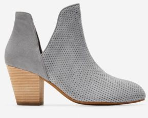 Ferd Bootie w/ Perforated Suede Details