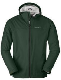 Eddie Bauer Men's Cloud Cap Rain Jacket (Advocado)