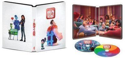 Ralph Breaks the Internet SteelBook Blu-Ray Set