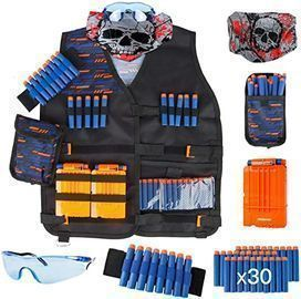 Little Valentine Kids Tactical Vest Kit for Nerf Guns