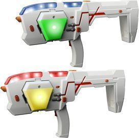 2-Player Laser X Morph Double Blasters Laser Gaming Set
