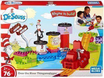 Mega Bloks Dr. Seuss Over the River Thingamajigger Set