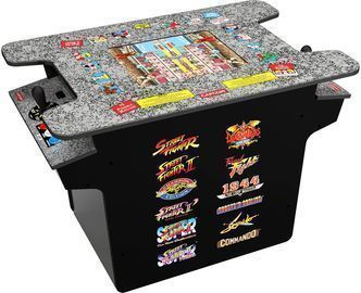 Arcade1Up Deluxe 12-in-1 Head-to-Head Cocktail Cabinet
