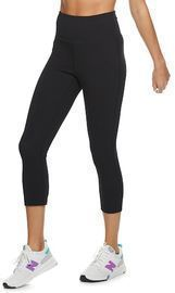 Women's Tek Gear Cotton High-Waisted Capri Leggings