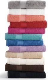 13 Big One Solid Bath Towels $2.25 Ea!