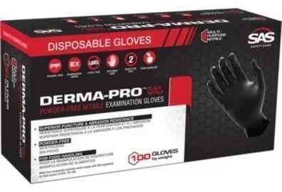 SAS Dermapro Nitrile Powder-Free Disposable Gloves 50-Pack