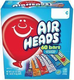 Airheads Candy Bars 60-Pack