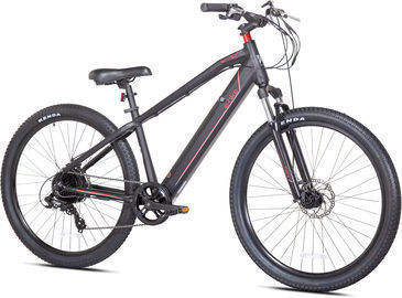 Kent 350W Electric Mountain Bike (27.5, Black)