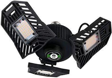 6000lm LED Garage Light w/ 3 Adjustable Panels