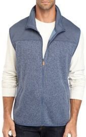 Saddlebred Men's Quick Dry Sweater Fleece Solid Vest