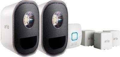 Arlo Indoor/Outdoor Smart Home Security Lights, 2pk