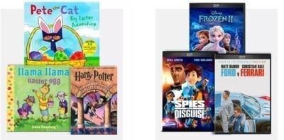 Target - Buy 2, Get 1 Free Books and Movies