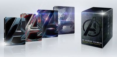 Avengers 4-Movie SteelBook Collection