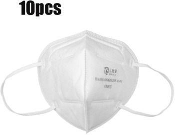 10Pcs KN95 3D Foldable Face Mask