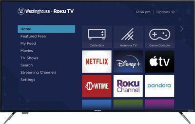 Westinghouse 58-inch 2160p Roku Smart 4K UHD TV with HDR