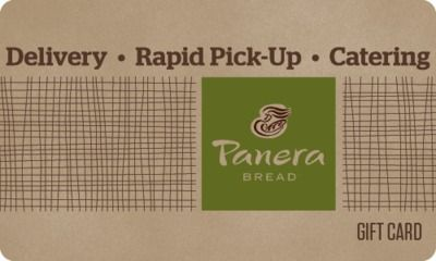 Panera Bread - 20% Off Gift Cards