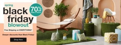 Overstock - Up to 70% Off Spring Black Friday Blowout