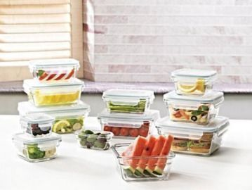24-Piece Member's Mark Glass Food Storage Set by Glasslock