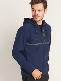 Go-H20 Water-Repellent Hooded Soft-Shell Jacket