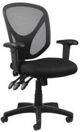 Realspace MFTC 200 Mesh Ergonomic Mid-Back Task Chair