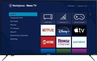 Westinghouse 55 4K UHD TV Smart LED w/ HDR & Roku TV Built in