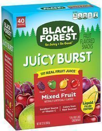 Black Forest Fruit Snacks 40-Ct.