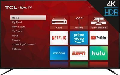 TCL 75-inch 4 Series 2160p Roku Smart 4K UHD TV with HDR