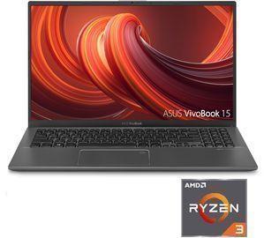Asus VivoBook 15.6 Laptop w/ AMD Ryzen 3 Processor