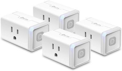 4-Pack of Kasa Smart Plugs by TP-Link (HS103P4)