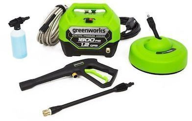 Greenworks 1800-PSI 1.2-GPM Cold Water Electric Pressure Washer