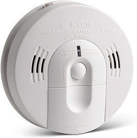 Kidde 21026043 Battery-Operated Combination Smoke/Carbon Monoxide Alarm w/ Voice Warning