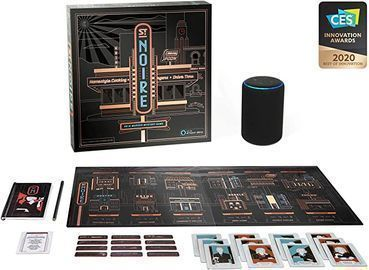 St. Noire - an Alexa Hosted Cinematic Board Game for Adults & Teens