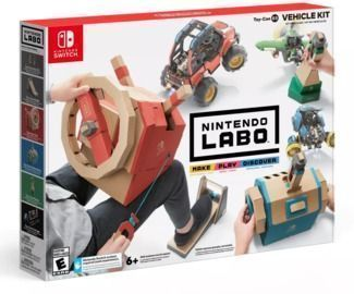 Nintendo Labo Toy-Con Vehicle Kit