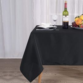 Rectangle Table Cloth (60 x 102 inches, Black)