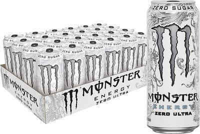 24-Pack 16oz Monster Energy Drink (Ultra Zero)